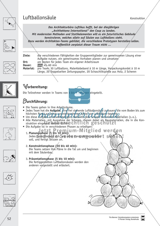 Soft Skills: Spiele zur Förderung des Zusammenhaltes innerhalb der Gruppe Preview 14