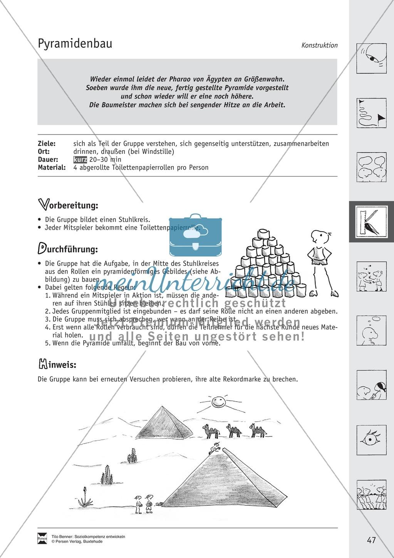 Soft Skills: Spiele zur Förderung des Zusammenhaltes innerhalb der Gruppe Preview 9