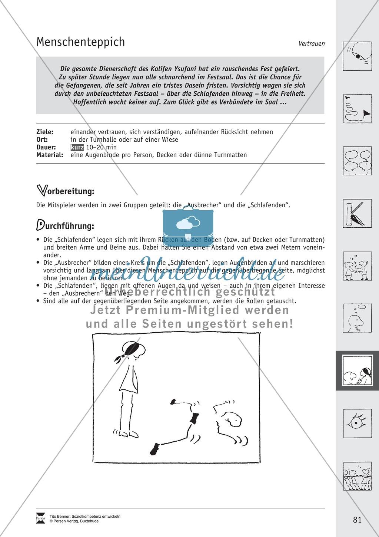 Soft Skills: Spiele zur Förderung des Vertrauens innerhalb der Gruppe Preview 15