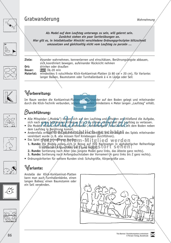 Soft Skills: Spiele zur Förderung der Achtung voreinander innerhalb der Gruppe Preview 8