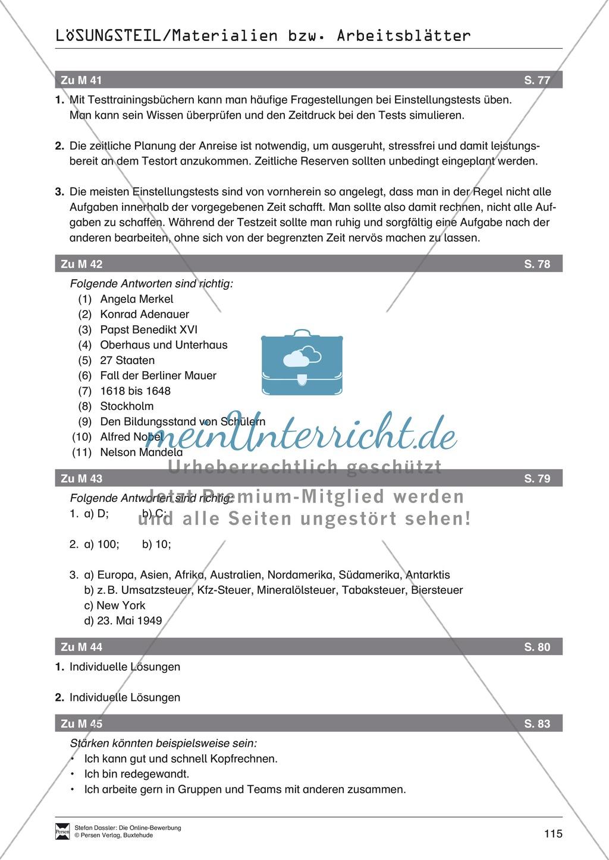 Alles Wichtige zum Einstellungstest + Lehrerhinweise Preview 7