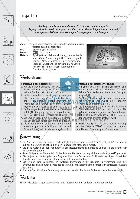 Soft Skills: Koordinationsspiele zur Förderung der Zusammenarbeit innerhalb der Gruppe Preview 13
