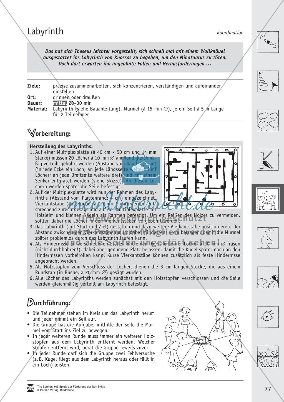 Soft Skills: Koordinationsspiele zur Förderung der Zusammenarbeit innerhalb der Gruppe Preview 16