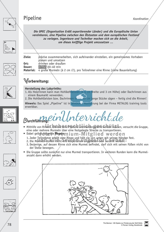 Soft Skills: Koordinationsspiele zur Förderung der Zusammenarbeit innerhalb der Gruppe Preview 17