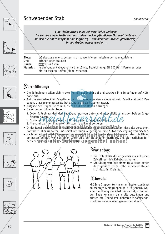 Soft Skills: Koordinationsspiele zur Förderung der Zusammenarbeit innerhalb der Gruppe Preview 19