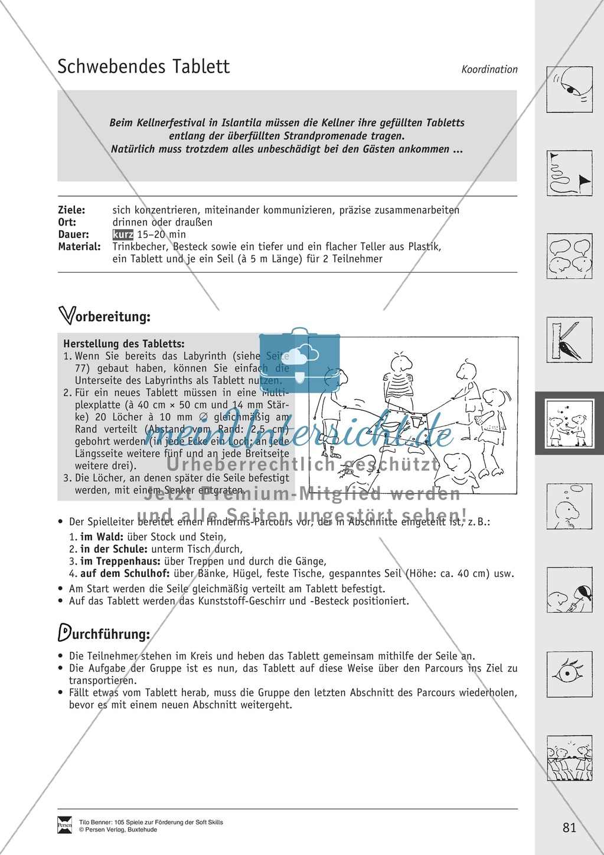 Soft Skills: Koordinationsspiele zur Förderung der Zusammenarbeit innerhalb der Gruppe Preview 20