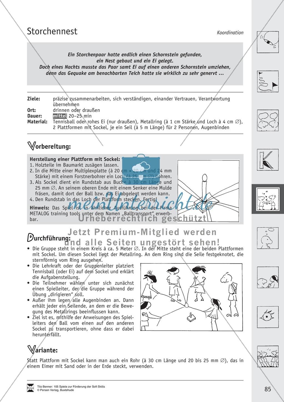 Soft Skills: Koordinationsspiele zur Förderung der Zusammenarbeit innerhalb der Gruppe Preview 24