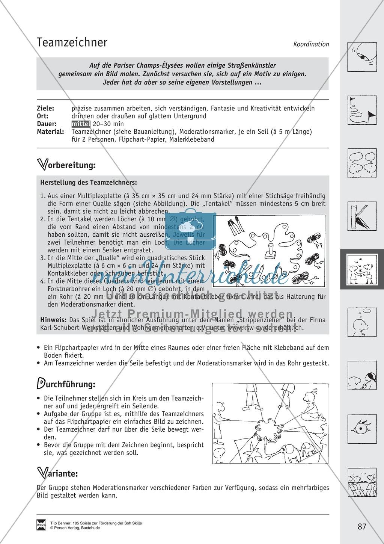 Soft Skills: Koordinationsspiele zur Förderung der Zusammenarbeit innerhalb der Gruppe Preview 26