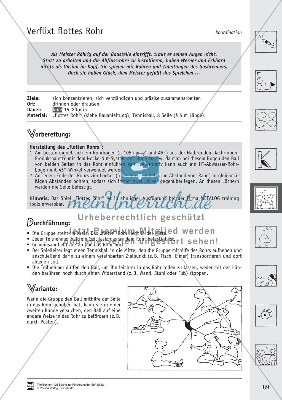Soft Skills: Koordinationsspiele zur Förderung der Zusammenarbeit innerhalb der Gruppe Preview 28