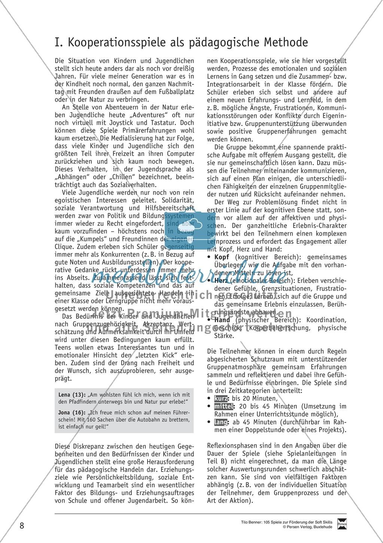 Soft Skills: Koordinationsspiele zur Förderung der Zusammenarbeit innerhalb der Gruppe Preview 1
