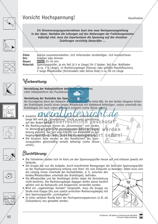 Soft Skills: Koordinationsspiele zur Förderung der Zusammenarbeit innerhalb der Gruppe Preview 31