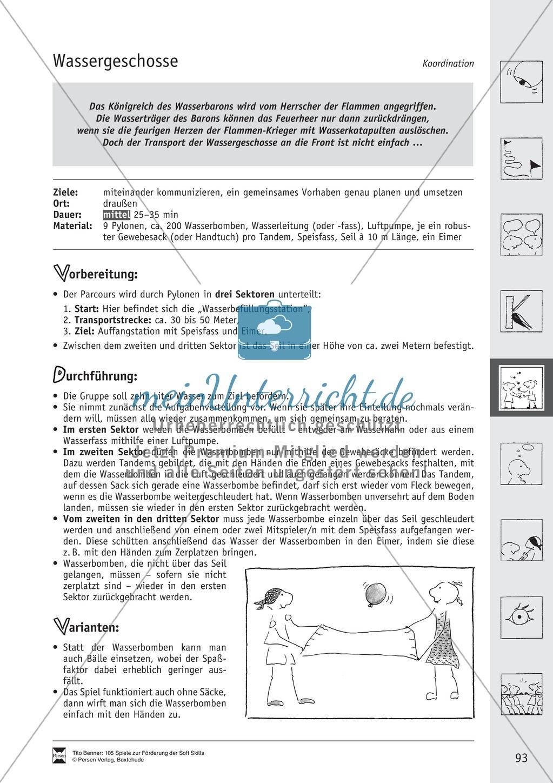 Soft Skills: Koordinationsspiele zur Förderung der Zusammenarbeit innerhalb der Gruppe Preview 32