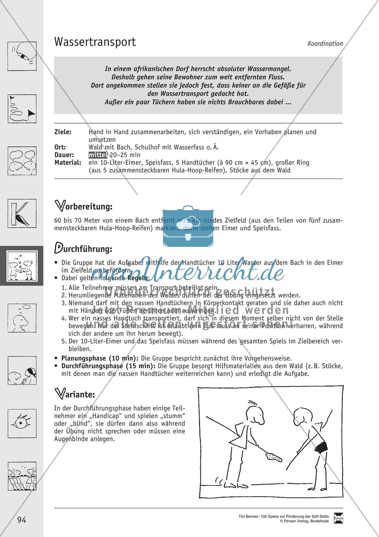 Soft Skills: Koordinationsspiele zur Förderung der Zusammenarbeit innerhalb der Gruppe Preview 33