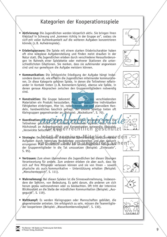 Soft Skills: Koordinationsspiele zur Förderung der Zusammenarbeit innerhalb der Gruppe Preview 2