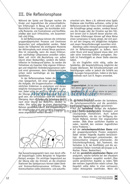 Soft Skills: Koordinationsspiele zur Förderung der Zusammenarbeit innerhalb der Gruppe Preview 5