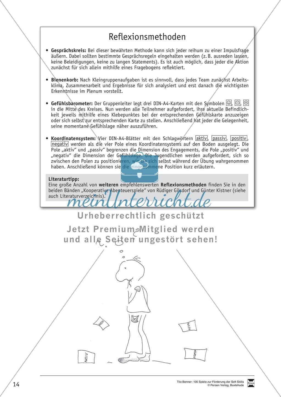 Soft Skills: Koordinationsspiele zur Förderung der Zusammenarbeit innerhalb der Gruppe Preview 7