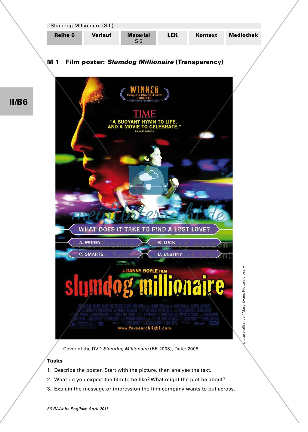 Slumdog Millionaire: Analysis of film poster and trailer Preview 0