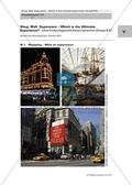 Shopping Malls and Experiences: Bilder für den Einstieg und Schülerdialog zum Erarbeiten von themenspezifischen Vokabular. Enthält Lückentext. Preview 1