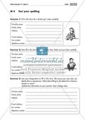 Listening comprehension of spelling: Zwei Steckbriefe zum Ausfüllen. Mit Lösungen und didaktischen Anmerkungen Thumbnail 0