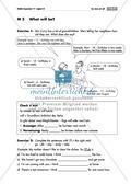 Englisch, Grammatik, Zeiten / tenses, Grammar, Satzstellung / word order, will-future, sentences, sentence structure, quiz
