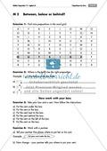 Übungen zur Wiederholung von Präpositionen des Ortes + Lösungen Preview 3