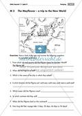map, vocabulary, Mayflower