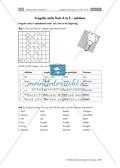 Unregelmäßige Verben von A bis E, enthält Übungen in Form von Rätseln Preview 2