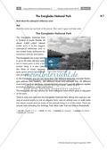 Having a poster session - Sinnentnehmendes Lesen an Texten über US-amerikanische Städte und Nationalparks üben: Übungen + Lösungen Preview 10