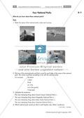 Having a poster session - Sinnentnehmendes Lesen an Texten über US-amerikanische Städte und Nationalparks üben: Übungen + Lösungen Preview 14