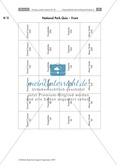 Having a poster session - Sinnentnehmendes Lesen an Texten über US-amerikanische Städte und Nationalparks üben: Übungen + Lösungen Preview 17
