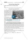 Having a poster session - Sinnentnehmendes Lesen an Texten über US-amerikanische Städte und Nationalparks üben: Übungen + Lösungen Preview 9