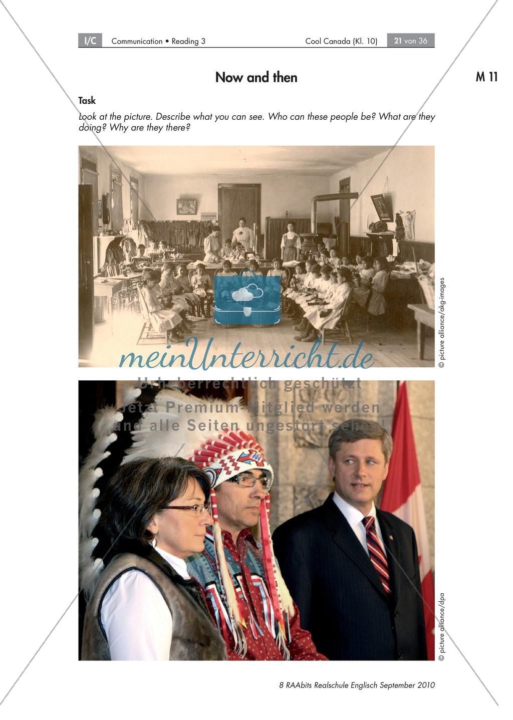 Textarbeit an Sachtexten über Kanada: Übungen zum Textverständnis + Lösungen Preview 14
