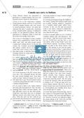 Textarbeit an Sachtexten über Kanada: Übungen zum Textverständnis + Lösungen Thumbnail 15