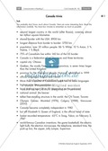 Textarbeit an Sachtexten über Kanada: Übungen zum Textverständnis + Lösungen Thumbnail 0