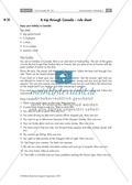 Textarbeit an Sachtexten über Kanada: Übungen zum Textverständnis + Lösungen Thumbnail 27