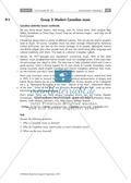Textarbeit an Sachtexten über Kanada: Übungen zum Textverständnis + Lösungen Preview 8