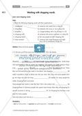 Einkaufsgewohnheiten in Großbritannien, Kanada und den USA kennenlernen : Übungen zur Lesekompetenz und Textverständnis + Kopiervorlagen Thumbnail 2