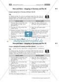 Einkaufsgewohnheiten in Großbritannien, Kanada und den USA kennenlernen : Übungen zur Lesekompetenz und Textverständnis + Kopiervorlagen Thumbnail 7