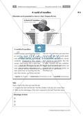 Diagramm zum Thema Reisen mit Aufgaben Preview 1