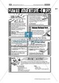 Landeskunde Hawaii anhand eines Gruppenpuzzles: Übungen + Lösungen Thumbnail 11