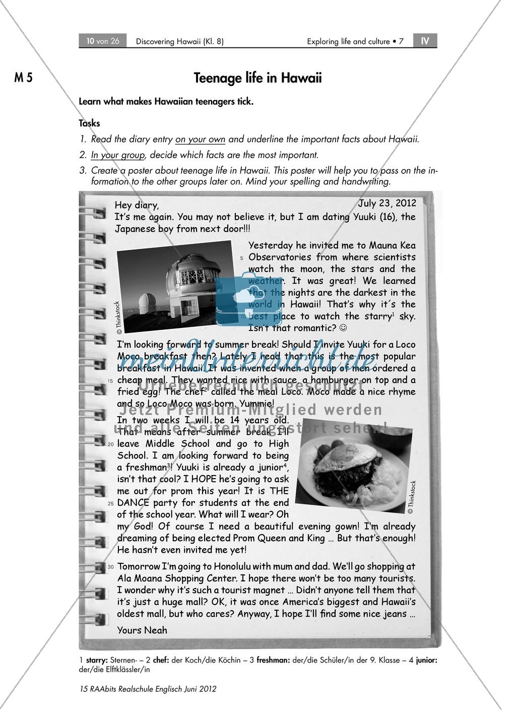 Ziemlich Englisch Arbeitsblätter Für Die High School Bilder ...