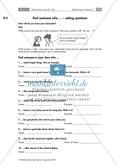 Englisch, Grammatik, Themen, Fragen / questions, Zeiten / tenses, Alltag, Questions, simple present, Schule, Simple Present, School, word field