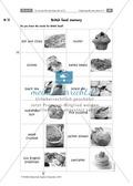 British food memory: Ein Spiel zum Lernen der Vokabeln als Zusatzstation. Preview 1