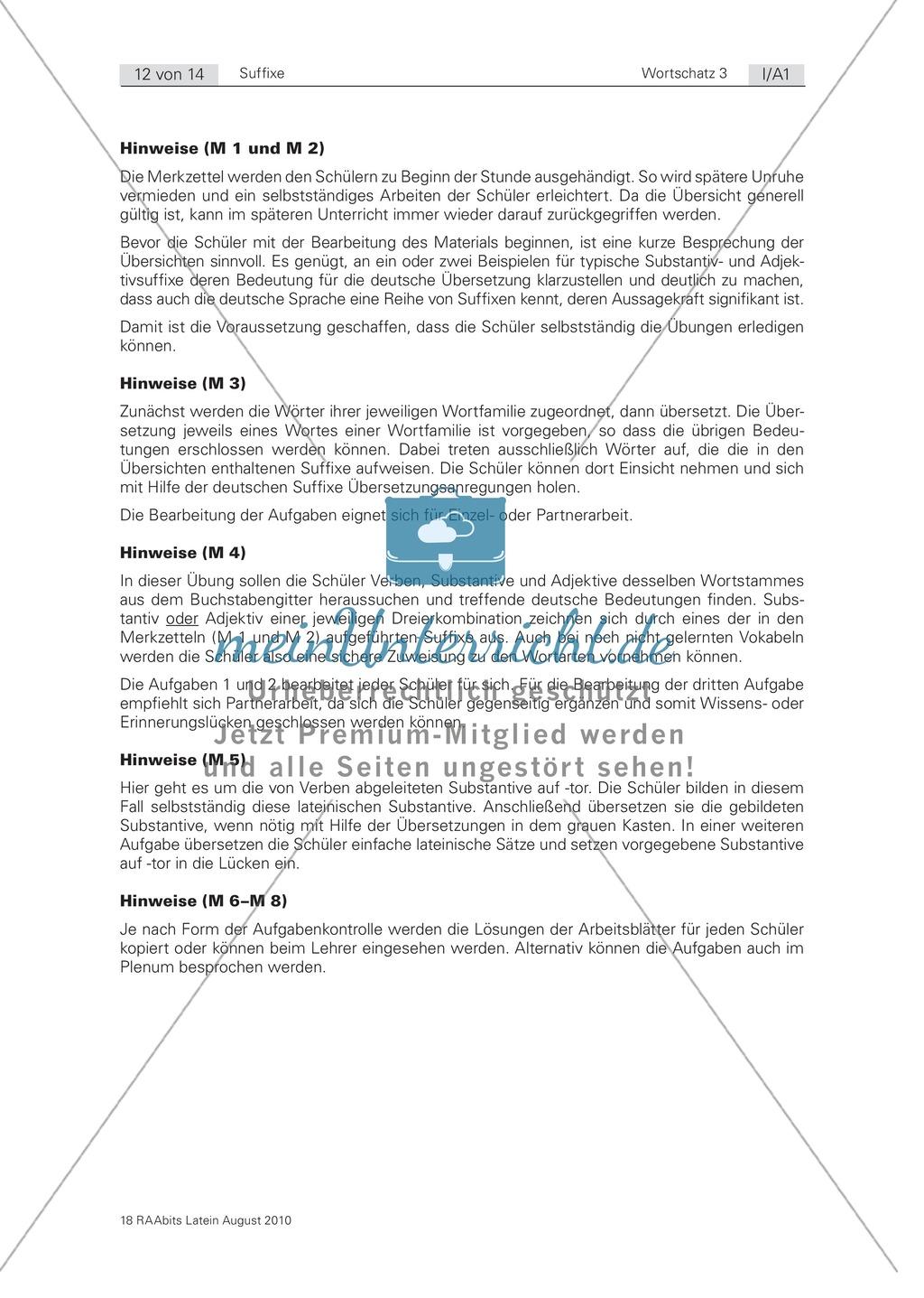 Outstanding Suffix Sätze Arbeitsblatt Model - Kindergarten ...