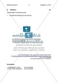 Abiturprüfung 2011 - Textaufgabe II + Aufgabenteil Preview 1