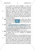 Abiturprüfung 2011 - Textaufgabe II + Aufgabenteil Preview 3