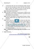 Abiturprüfung 2011 - Textaufgabe II + Aufgabenteil Preview 4