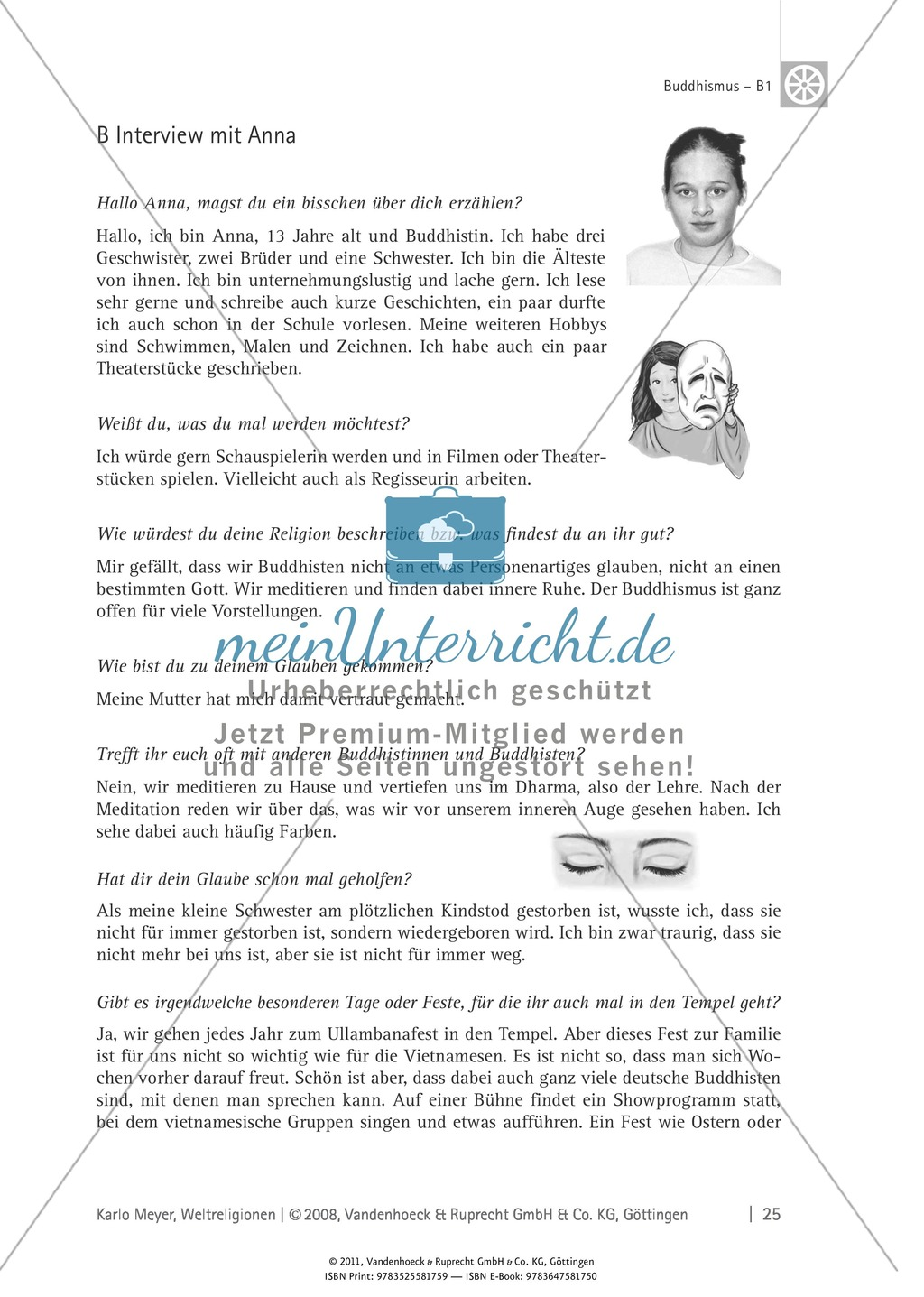 Buddhismus: Feste, Rituale, Gottesvorstellung Preview 3
