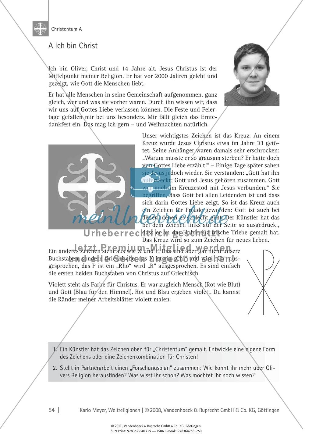 Christentum: Feste, Rituale, Gottesvorstellungen Preview 2