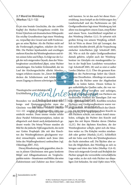 Tatort Bibel: Das Gleichnis von den bösen Winzern Preview 3